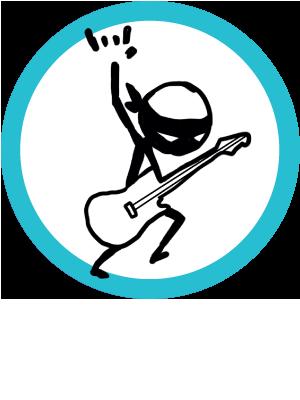 Story Ninjas Rock Logo